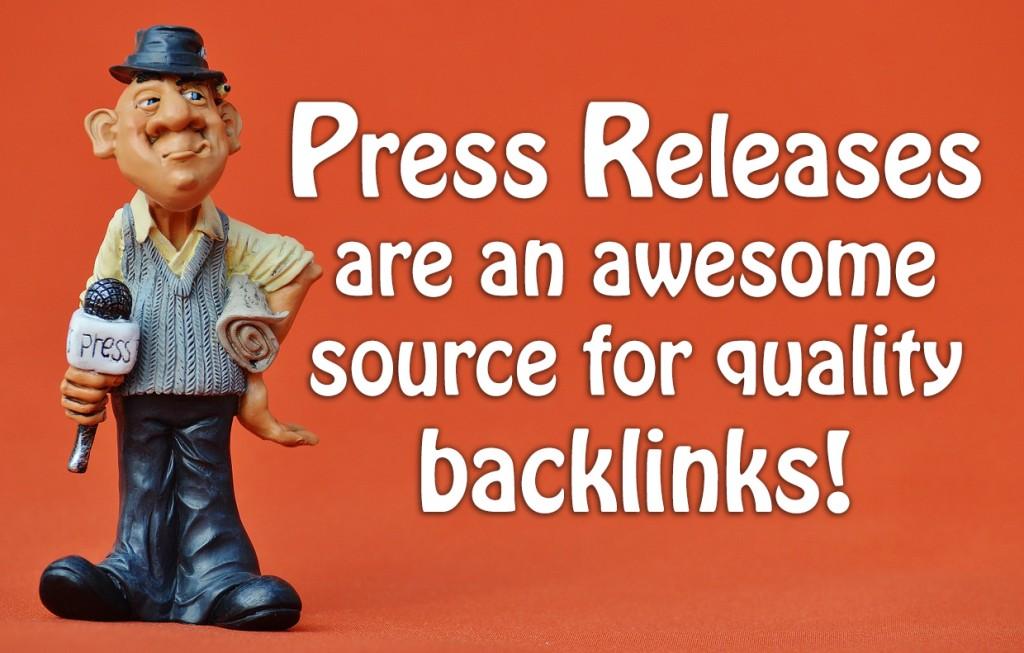 press release backlinks