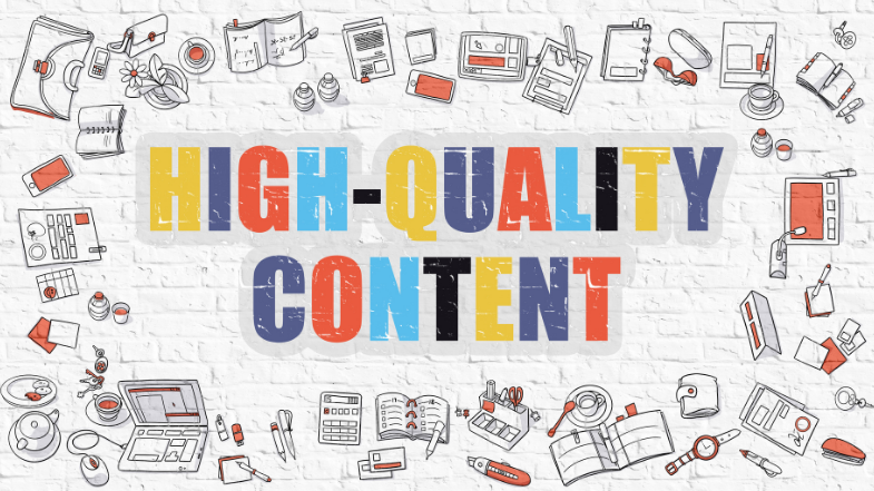 create high quality content 2