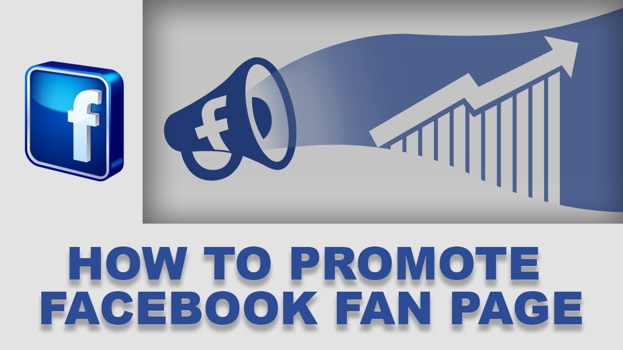 promote facebook fan page