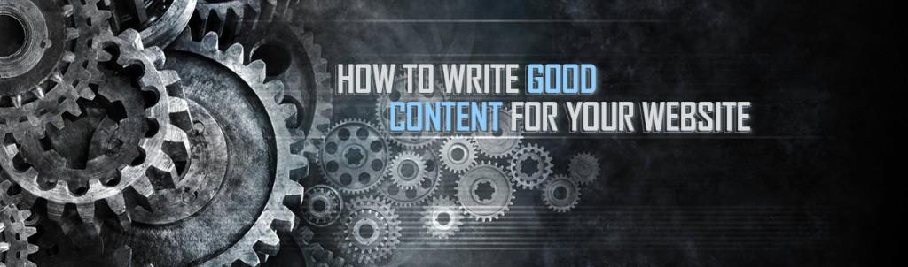 write excellent content 1